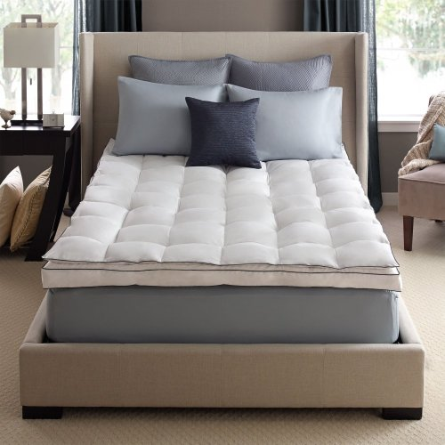 Twin Down on Top Feather Bed Mattress Topper