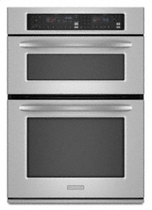 "Combination Oven 30"" Width 1.4 cu. ft. Microwave Capacity 4.3 cu. ft. Oven Capacity Microwave Convection Cooking Even-Heat™ True Convection System"