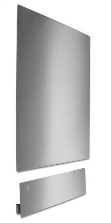 Dishwasher Side Panel Kit - Stainless Steel