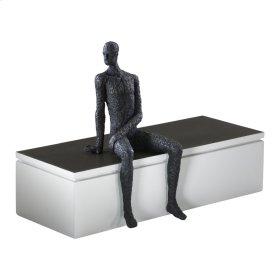 Posing Man Shelf Decor