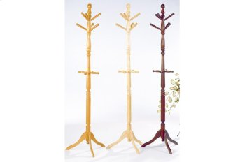 Cherry Finish Hall Tree and Umbrella Rack Product Image