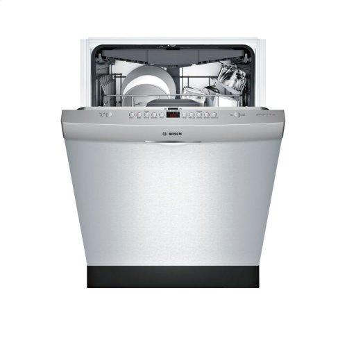 300 Series built-under dishwasher 24'' Stainless steel SHS863WD5N