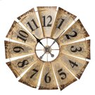 Vintage Fan Wall Clock. Product Image