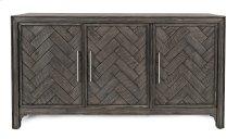 Gramercy Platinum 3 Door Accent Cabinet