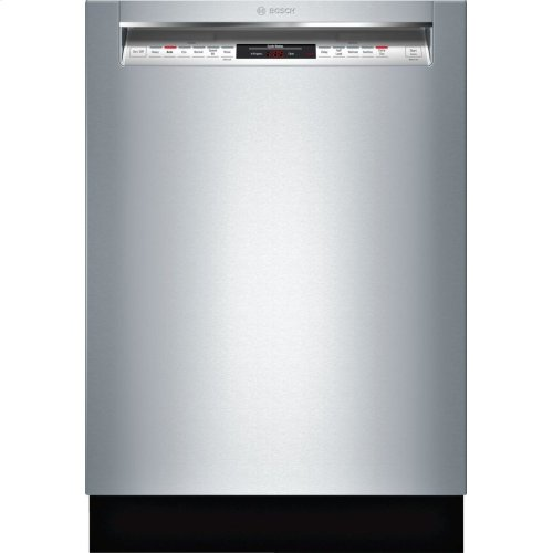 800 Series built-under dishwasher 24'' Stainless steel SHEM78W55N