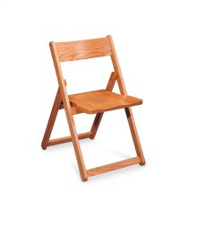 Foldus Folding Chair, Wood Seat