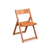 Foldus Folding Chair, Wood Seat