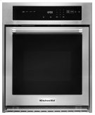 "24"" Single Wall Oven with True Convection - Stainless Steel Product Image"