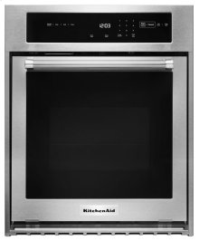 "24"" Single Wall Oven with True Convection - Stainless Steel"