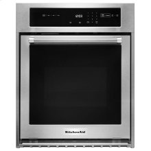 """24"""" Single Wall Oven with True Convection - Stainless Steel"""