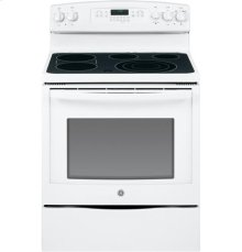 """DISPLAY MODEL GE® 30"""" Free-Standing Electric Convection Range"""