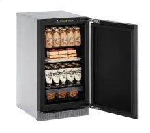"2000 Series 18"" Solid Door Refrigerator With Integrated Solid Finish and Field Reversible Door Swing"