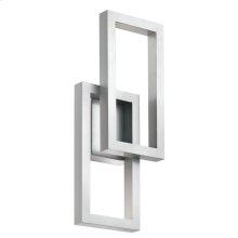Rettangolo Collection Rettangolo 1 Light LED Outdoor Wall Lantern PL