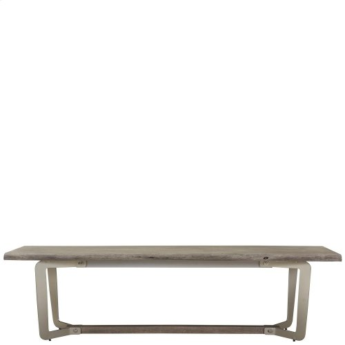 Waverly - Dining Bench - Sandblasted Gray Finish