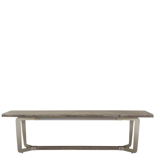 Waverly - Dining Bench - Sandblasted Gray Finish