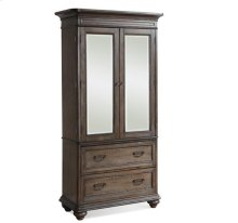 Belmeade Armoire Old World Oak finish