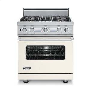 "30"" Custom Sealed Burner Dual Fuel Electronic Control Range, Propane Gas, No Brass Accent"