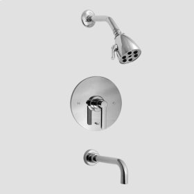 3400 Series Pressure Balance Tub and Shower Set with Carina Handle (available as trim only P/N: 1.342868T)