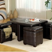 Ceres Cocktail Table W/ Ottomans Product Image