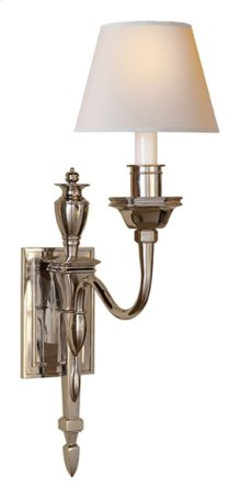 Visual Comfort MS2015PN-NP Michael S Smith Winslow 1 Light 6 inch Polished Nickel Decorative Wall Light