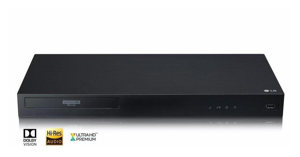 UBKC90LG Appliances 4K Ultra-HD Blu-ray Disc Player with