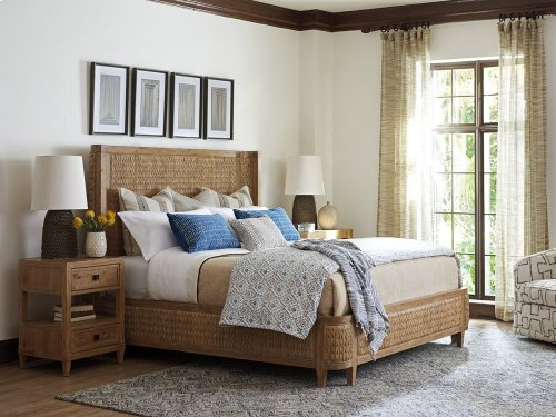 Ivory Coast Woven Bed King