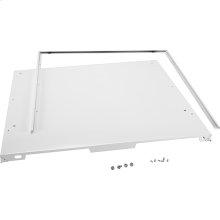"""4"""" Console Dishwasher Panel Kit - White"""