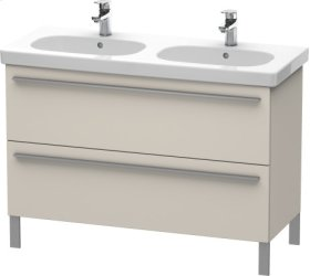 Vanity Unit Floorstanding, Taupe Decor