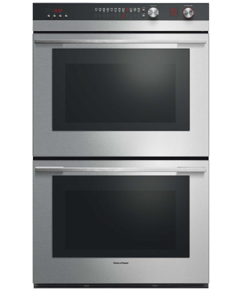 how to set clock fisher paykel oven