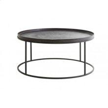 Coffee table 89x42 cm SERENA dark bronze+matt black
