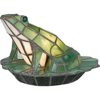 Green Frog Accent Lamp in Other
