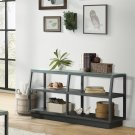 Kali - Console Table - Textured Black Finish Product Image