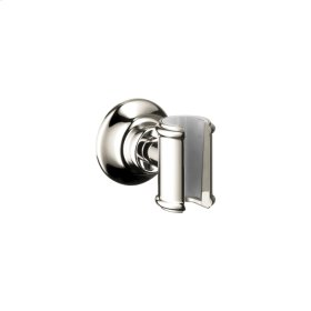 Polished Nickel Shower holder