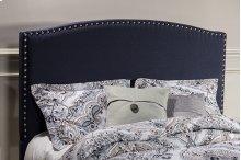 Kerstein Fabric Headboard - Full - Headboard Frame Not Included - Navy Linen