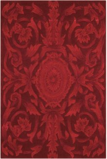 Moda Mod05 Ruby Rectangle Rug 3'6'' X 5'6''