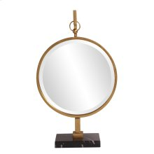 Medallion Gold Mirror