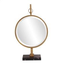 Medallion Gold Mirror