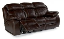 Como Leather Power Reclining Sofa