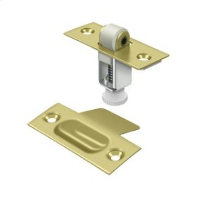 Roller Catch - Polished Brass
