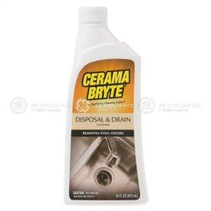 Cerama Bryte Disposal & Drain Cleaner -