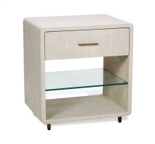 Calypso Bedside Chest - Cream