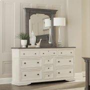 Juniper - Bracket Mirror - Charcoal Finish Product Image