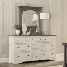 Juniper - Bracket Mirror - Charcoal Finish