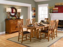 6 PIECE SET (TABLE AND 6 CHAIRS)