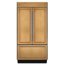 """42"""" Overlay Built-In French Door Bottom Mount Refrigerator"""