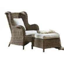 Exuma 2 PC Occasional Chair Set w/beige cushion