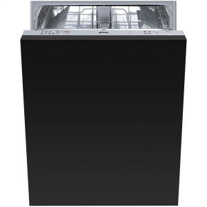"Smeg60CM (Approx. 24"") Fully integrated, Panel-Ready Dishwasher, ADA Height Compliant"