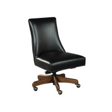 office@home Rounded Back Armless Desk Chair