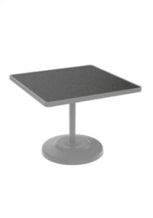 "Raduno 36"" Square KD HPL Pedestal Dining Table"