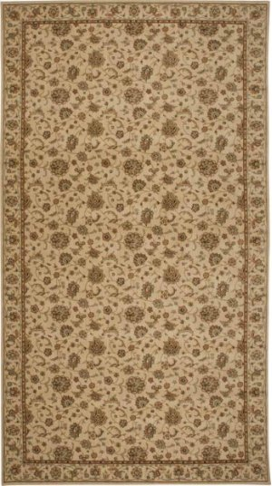 Hard To Find Sizes Sultana Su01 Ivory Rectangle Rug 5' X 8'